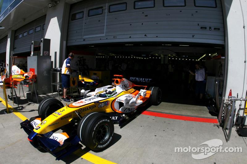 Джанкарло Фізікелла, Renault F1 Team