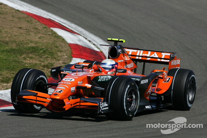 #21: Маркус Вінкельхок, Spyker F1 Team, F8-VII