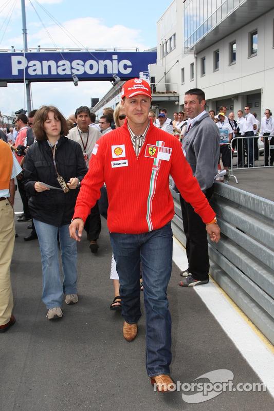 Міхаель Шумахер, Scuderia Ferrari