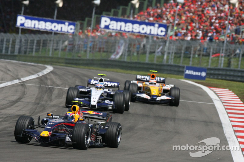 Марк Веббер, Red Bull Racing, RB3, Алекс Вурц, Williams F1 Team, FW29