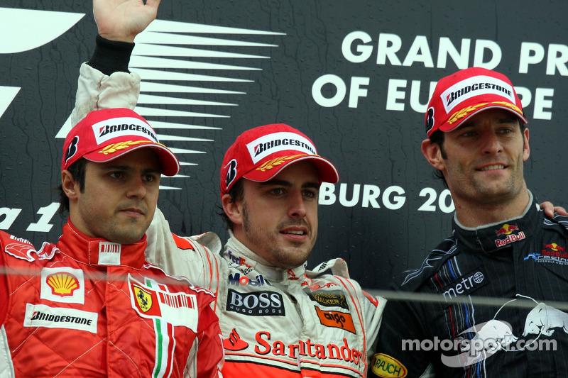 2007 - Podio en el GP de Europa
