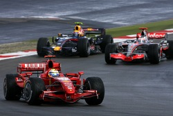 Felipe Massa, Scuderia Ferrari, Mark Webber, Red Bull Racing, Fernando Alonso, McLaren Mercedes