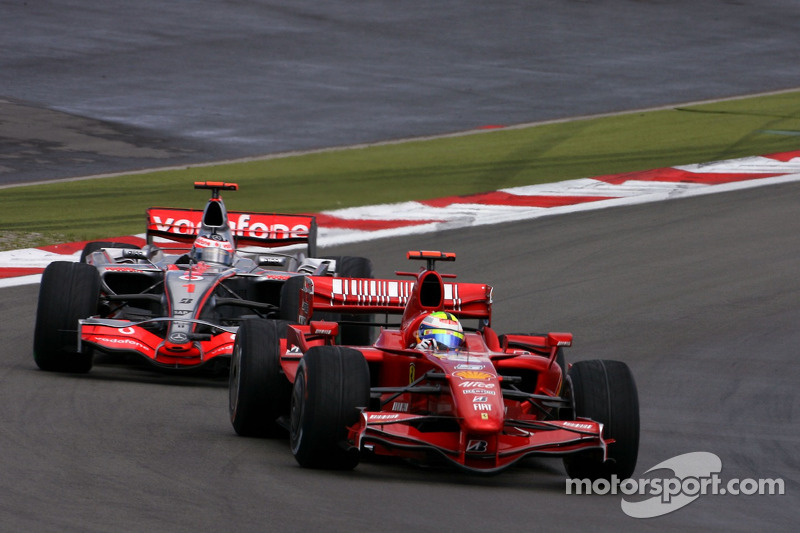 Феліпе Масса, Scuderia Ferrari, Фернандо Алонсо, McLaren Mercedes