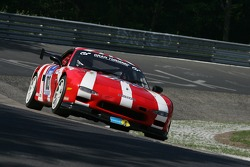 #103 Brunswick Automotive Mazda RX7: Giles Groombridge, Dave Ashford, James Baxter, Matthew West