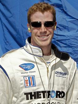 Chris Dyson heureux avec la voiture ce week-end
