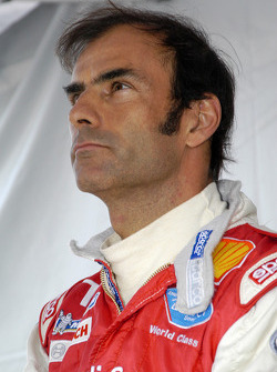 Emanuele Pirro thinks about the times