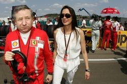 Jean Todt, Scuderia Ferrari, Ferrari CEO and Dr. Michelle Yeoh Girlfriend of Jean Todt