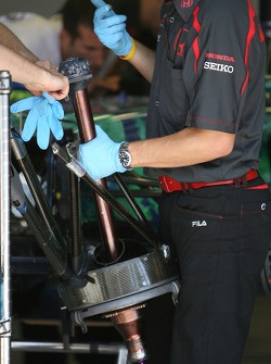 Honda Racing F1 Team, front axle