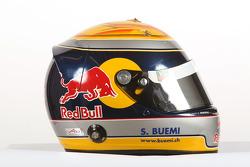 Casque de Sebastien Buemi, pilote de A1 Equipe de Suisse
