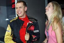 Sebastian Vettel, Scuderia Toro Rosso and Melanie Binder