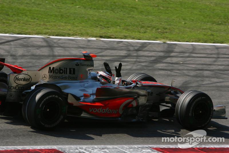 Монца-2007 - останній успіх із McLaren, якраз у розпалі шпигунського скандалу