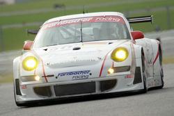 #90 Farnbacher Racing Porsche 997 GT3 RSR: Dirk Werner, Pierre Ehret, Lars Erik Nielsen