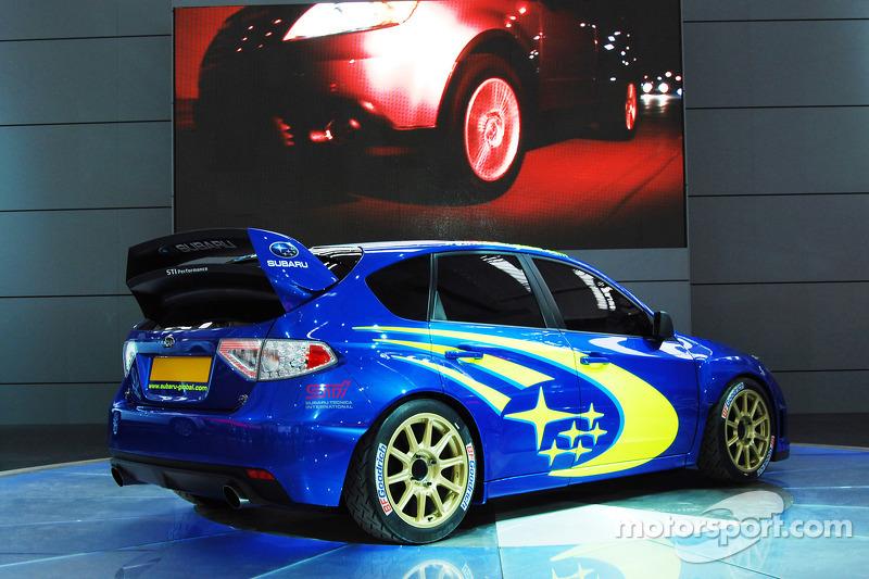 Subaru Wrc Concept Car At The Frankfurt Auto Show At Subaru Wrc