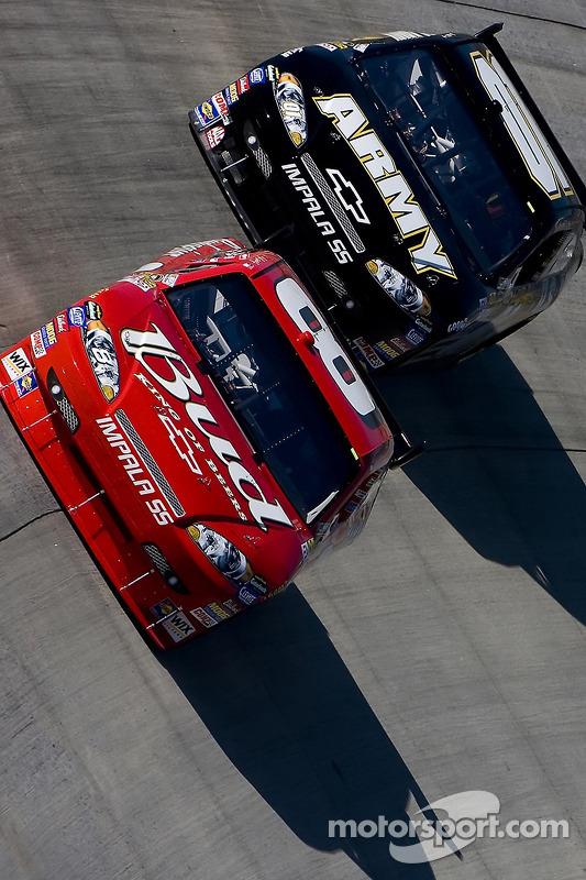 Dale Earnhardt Jr. et Mark Martin