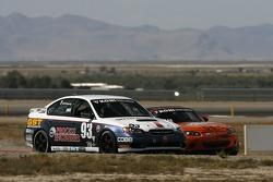 #93 GOTO Racing Subaru Legacy: Brian Lock, Chris Lock, #56 BSI Racing Mazda MX-5: Todd Buras, Christian Miller