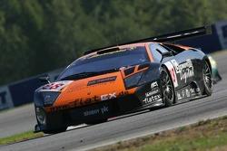 #28 Reiter Lamborghini Lamborghini Murciélago: Jos Menten, Peter Kox