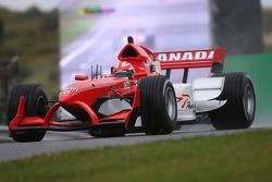 James Hinchcliffe, pilote de A1 Equipe du Canada