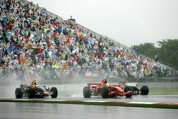 Felipe Massa, Scuderia Ferrari, David Coulthard, Red Bull Racing
