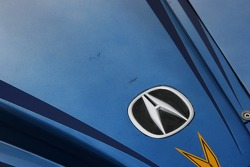 Detail of the Highcroft Racing Acura ARX-01a Acura