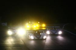 #10 Arena International Motorsport Zytek 07S Zytek: Tom Chilton, Darren Manning leads a group of cars