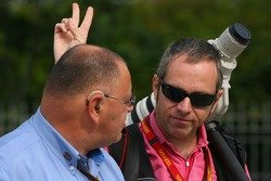Pat Behar, FIA, Fotoğrafçısı, Delegate ve Mark Thompson, Getty Images, Fotoğrafçısı