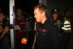 Sebastian Vettel, Scuderia Toro Rosso after his meeting with the stewards