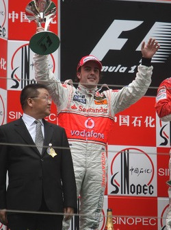 2ое место - Фернандо Алонсо, McLaren Mercedes