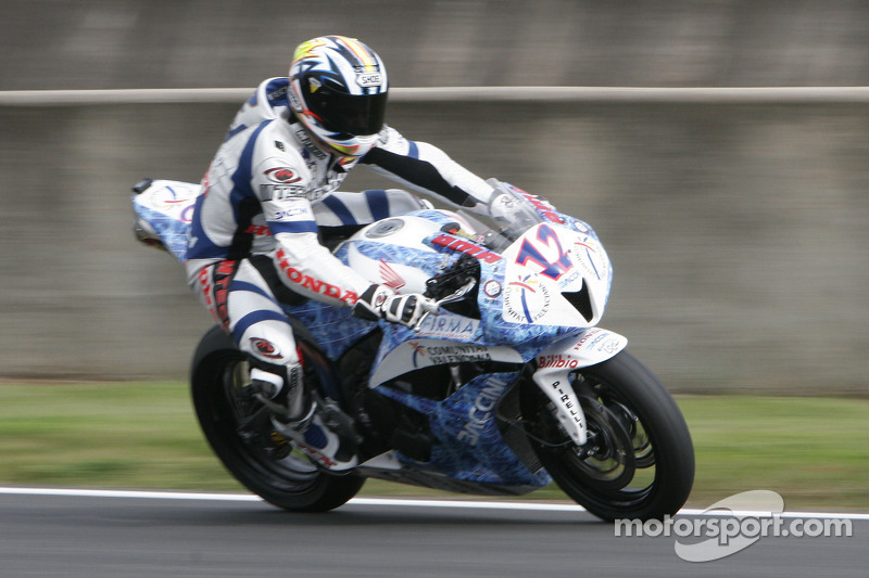12-Javier Fores-Honda CBR 600 RR-HP Racing at Magny-Cours