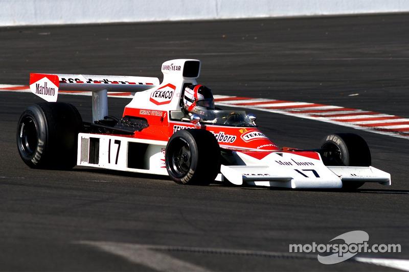 McLaren M23: Meins R, GB