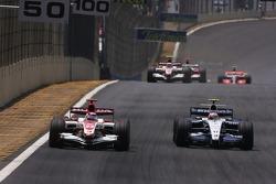 Takuma Sato, Super Aguri F1 Team, Kazuki Nakajima, Williams F1 Team