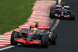 Lewis Hamilton, McLaren Mercedes, Sebastian Vettel, Scuderia Toro Rosso