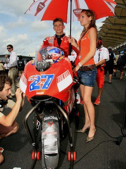 Casey Stoner with wife, Adrianna