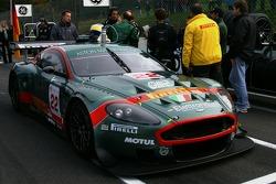 Aston Martin Racing BMS Aston Martin DBR9: Jean-Marc Gounon, Ferdinando Monfardini