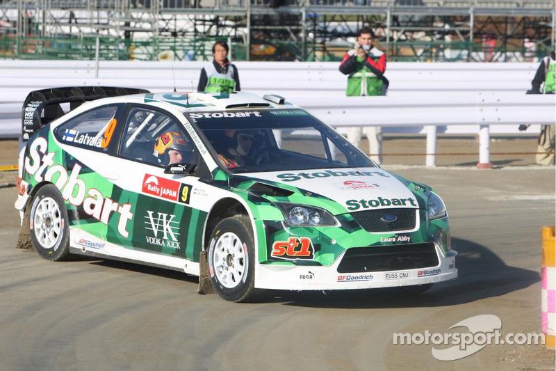 Jari-Matti Latvala e Miikka Anttila, Stobart M-Sport Ford Rally Team, Ford Focus WRC