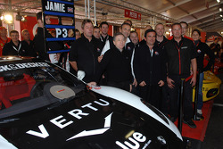 Coppa Shell: Jean Todt with Jamie Constable and the GB Dealer Team