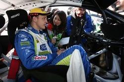 Rally winner Mikko Hirvonen