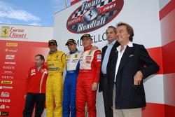 Trofeo Pirelli: the podium