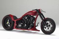 Das neue Chopper-Motorrad