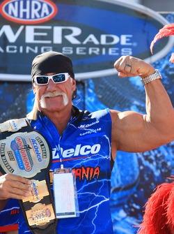 Hulk Hogan with belt