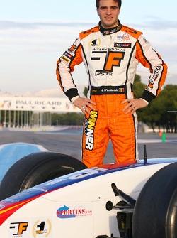 Jerome d'Ambrosio, Winner of the 2007 Formula Master Championship, Campos Grand Prix