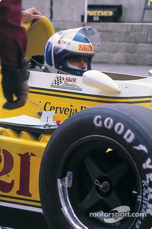 GP de Argentina 1980 - Ese primer podio de Keke Rosberg fue el primer podio del equipo Fittipaldi en Fórmula 1 (ese equipo solo lograría otro más en tres temporadas)