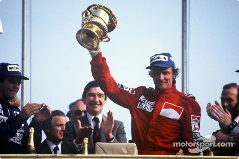 13º Niki Lauda: 54 podios