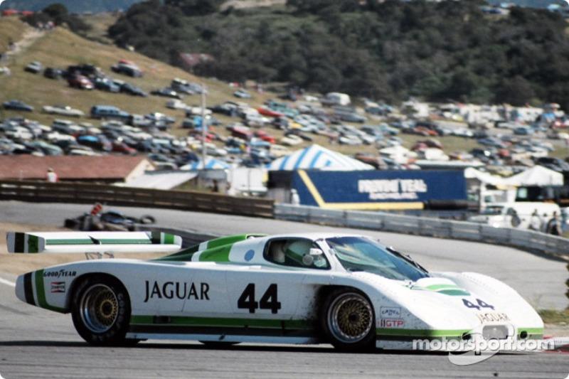 #44 Group 44 Jaguar XJR-7: Chip Robinson, Hurley Haywood