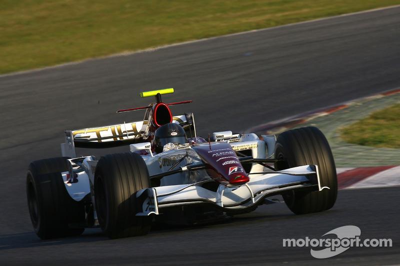 Force India F8-VII-B (2007) solo pruebas