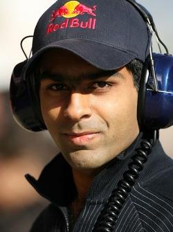 Karun Chandhok, Test Driver, Red Bull Racing