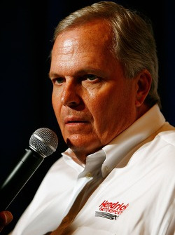 Press conference at the Doral in Miami: team owner Rick Hendrick