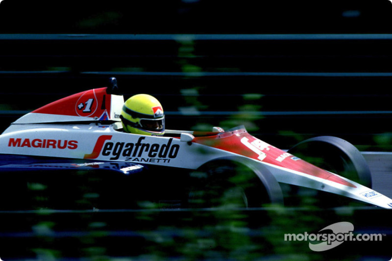 Ayrton Senna, Toleman Hart TG184