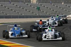Jens Klingmann, Eifelland Racing and Carlos Huertas, Double R Racing