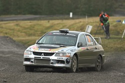 Juho Hanninen and Mikko Markkula, Mitsubishi Lancer Evolution IX