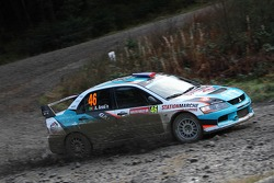 Armindo Araujo and Miguel Ramalho, Mitsubishi Lancer WRC05